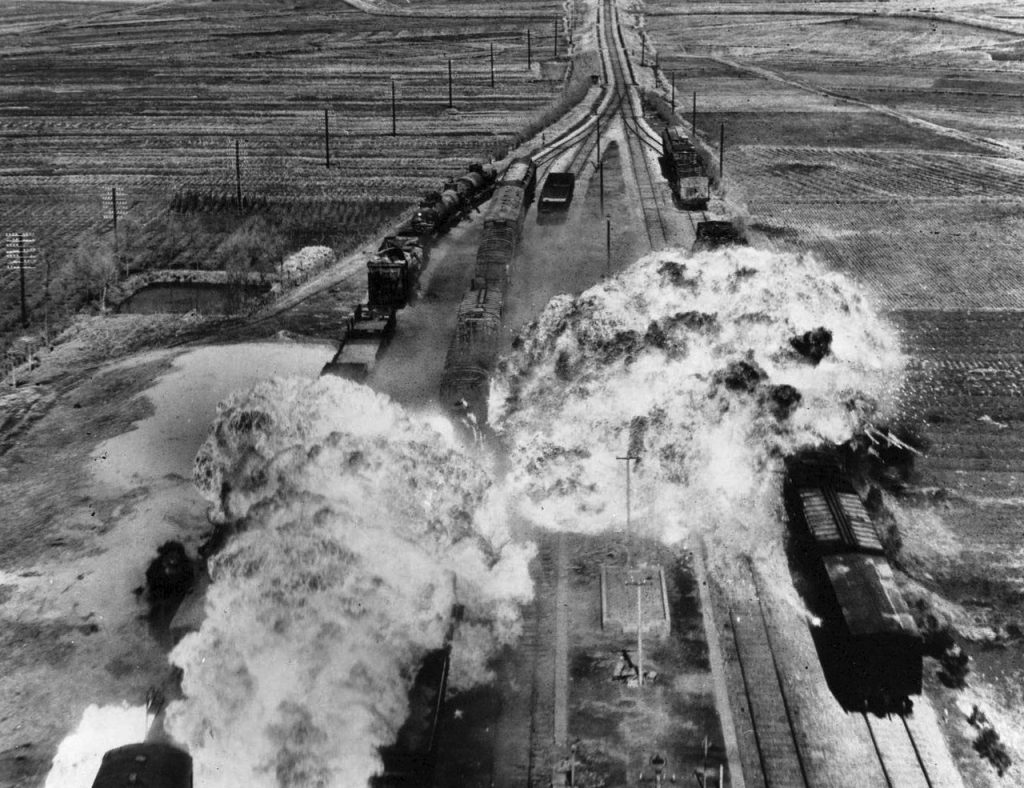 1280px-Korean_War,_train_attack